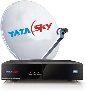 Tatasky Ltd 199 Dhamaka HD Set Top Box (White and Black)