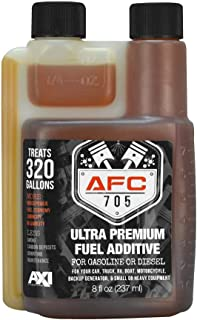 AFC-705 (8oz) Ultra Premium Fuel Additive - 320 Gallon Treatment - Enhances & Stabilizes Fuel – Complete Fuel System Cleaner – for Diesel & Gas Use