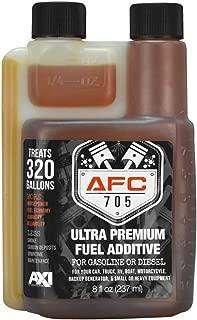 AFC-705 (8oz) Ultra Premium Fuel Additive - 320 Gallon Treatment - Enhances & Stabilizes Fuel – Complete Fuel System Cleaner – for Diesel & Gas Use