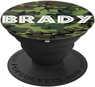 BRADY ~ Camouflage ~ Personalized PopSockets Grip and Stand for Phones and Tablets