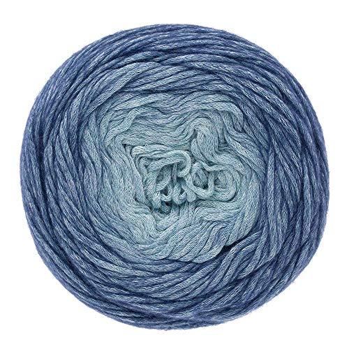 austermann Delicate Dip Dye 06 EIS/blau