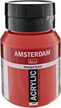 Royal Talens Amsterdam Standard Series Acrylic Color, 500ml Tube, Naphthol Red Medium (17093962)