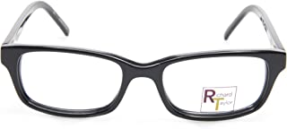 NEW Richard Taylor RT106 BLACK EYEGLASSES GLASSES FRAME RT 106 48-16-139 B30mm