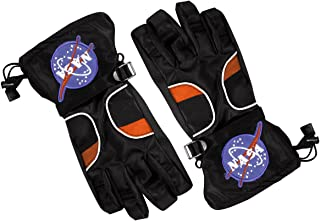 Aeromax Astronaut Gloves, Size Small, Black, with NASA Patches