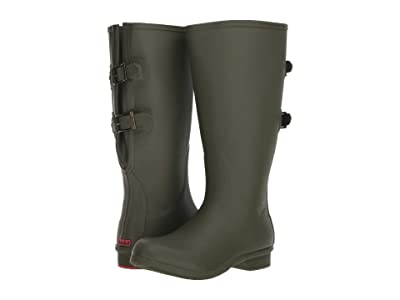 Chooka Wide Calf Versa Rain Boot (Moss) Women