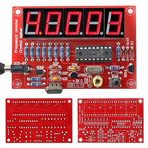 1Hz-50MHz Quarzoszillator Frequenzzähler DIY Kit LED Digital Frequenz Tester Meter