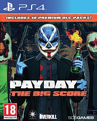 JEU Konsole 505 Games Payday 2 The Big Score PS4, A103805