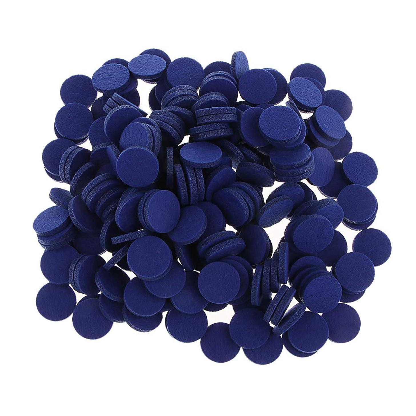オンス増幅するおんどりFLAMEER ディフューザーパッド アロマパッド パッド 精油 エッセンシャルオイル 香り 約200個入り 全11色 - ロイヤルブルー