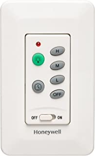 Honeywell Ceiling Fans 40014-01 Universal Wall Mount Control for Ceiling Fans, Cream