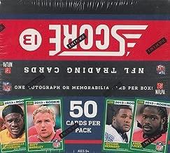 2013 Score Football Hobby Jumbo Trading Card Box