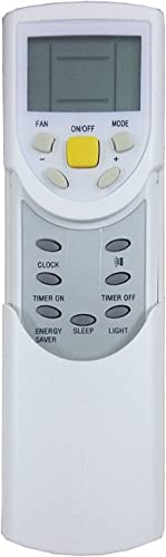 Upix® AC Remote No. 60, Compatible with Voltas AC Remote Control - Old Remote Functions Must be Exactly Same