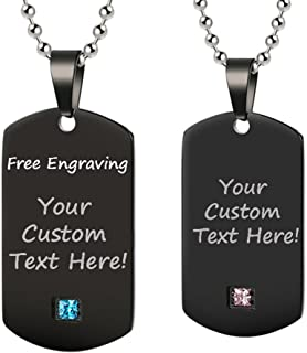friendship necklace with your dog