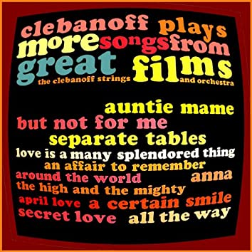 Clebanoff Plays More Songs from Great Films