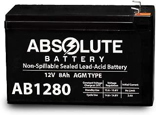 12V 8AH SLA Battery Replaces Viking Access I-8 Underground Gate Operator
