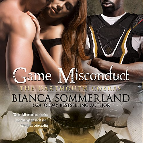 Game Misconduct audiobook cover art