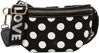 comprar comparacion akaddy Bolso de la cintura de Fanny del bolso de la cintura de la moda de las mujeres Fanny Pack