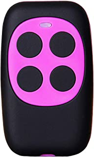XIHADA Universal Garage Door Remote Garage Remote Gate Opener Remote Universal Gate Remote Control Homelink Remote Programmable Learning Garage Door Remote Multi Frequency 280MHZ-868MHZ (Purple)
