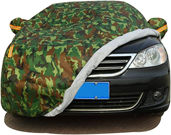 HRF0HLHY Funda Impermeable de Tela Oxford Compatible con el Modelo de Mercedes Benz//protecci/ón Solar//protecci/ón UV,Verde,C180