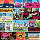 Re-marks Road Trip Vintage Signs 500 Piece Jigsaw Puzzle