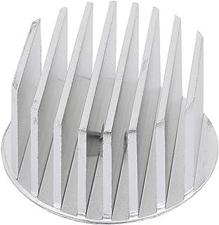 Aexit Difusor de calor de aluminio Radiador del disipador de calor Aleta de enfriamiento 50 mm de diámetro (model: B5886OIV-9850CG) para lámpara led