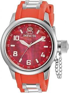 ساعة انفيكتا روسيان دايفر كوارتز مينا حمراء للسيدات 31248