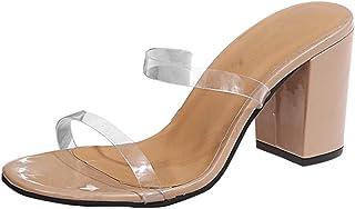 Damessandalen, sandalen, pumps, slingback, peep toe slip-on sandalen, zomer, outdoor sandalen.