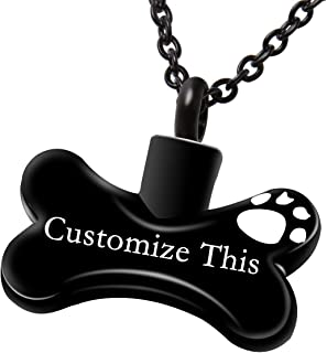 personalized pet cremation jewelry