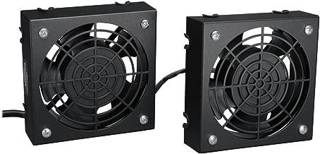 Tripp Lite Wall-Mount Roof Fan Kit, 2 High-Performance Fans, 120V, 210 CFM, 5-15P Plug (SRFANWM)
