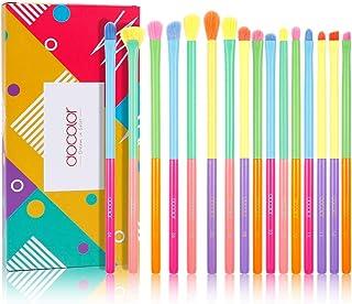 Docolor Eyeshadow Brushes 16 Pieces Colorful Eyeshadow Brush Set Christmas Gift Professional Eye...