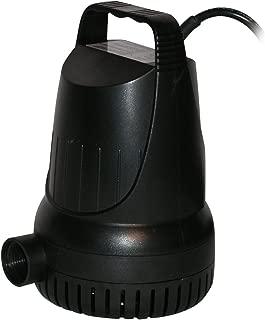 Alpine Hurricane Heavy-Duty 1500 GPH Water Pump w/ 33 Ft. Cord, 9 Inch Tall