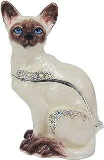 RUCINNI Siamese Cat Trinket Box