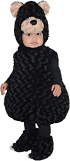 Underwraps Kid's Toddler's Bear Belly Babies Costume Childrens Costume, black, Small
