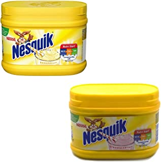 Nesquik Strawberry and Banana Flavour Bundle | Enjoy These