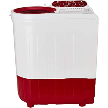 Whirlpool 7.2 Kg Semi-Automatic Top Loading Washing Machine (ACE SUPREME PLUS 7.2, Coral Red, Ace Wash Station)