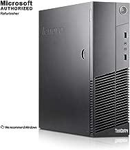 2018 Lenovo ThinkCentre M83 Small Form Business High Performance Desktop Computer PC (Intel Core Pentium G3220 3.0G,8G RAM DDR3,500GB HDD,DVD-ROM,WIFI, Windows 10 Professional)(Renewed)