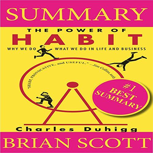 Summary: The Power of Habit audiobook cover art