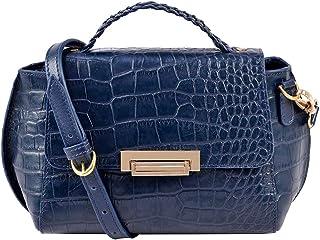 Hidesign Women's Sling Bag (Blue)