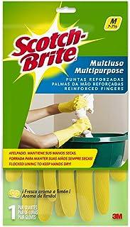 Scotch-Brite 491-M Multi-Purpose Gloves - Medium, Yellow