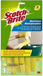 Scotch-Brite Multi-Purpose Gloves - Medium, Yellow