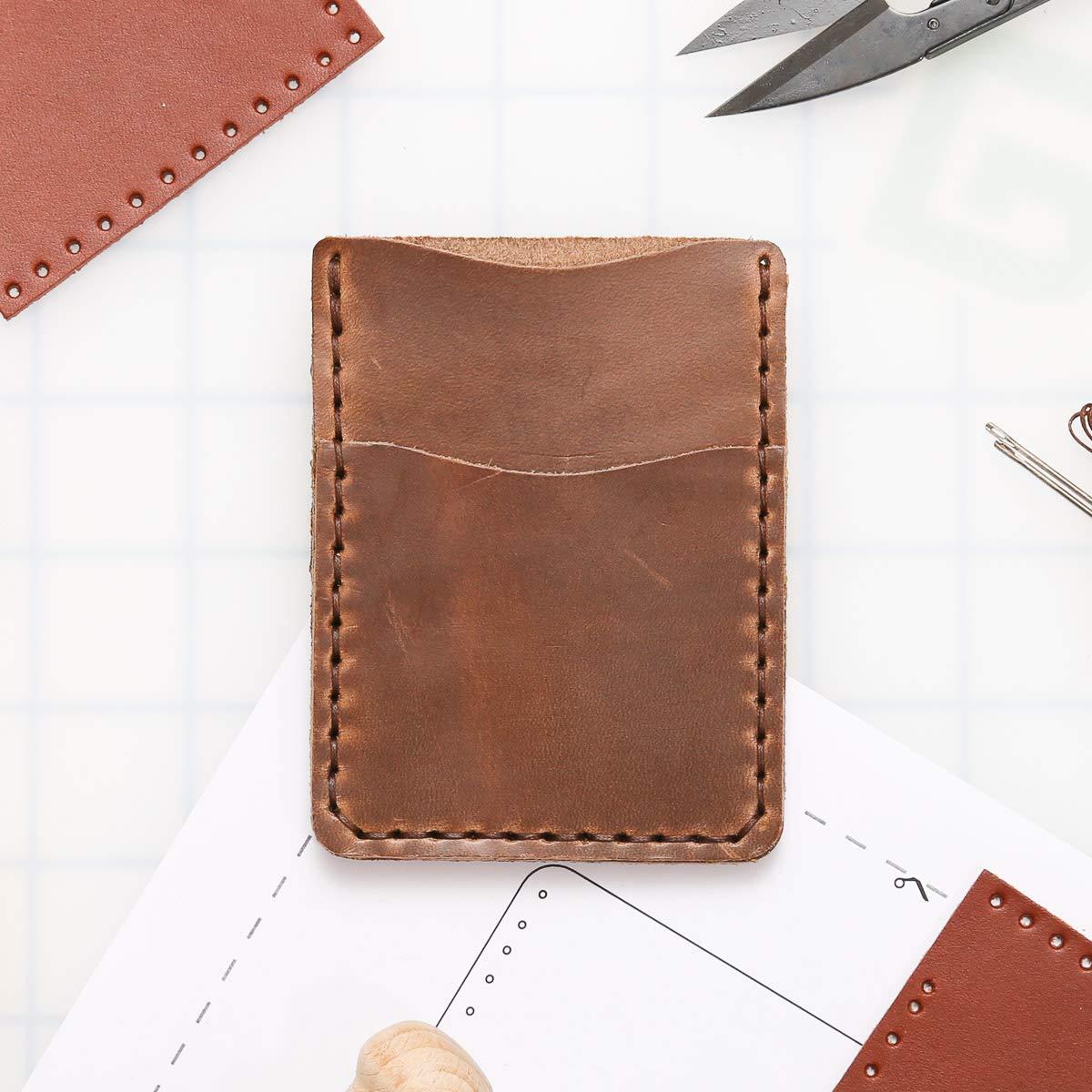 DIY List price Leather Kit - Clip SALENEW very popular Money Wallet