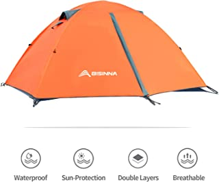 BISINNA 2/4 Person Camping Tent Lightweight Backpacking...