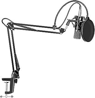 LYPULIGHT Micrófonos de Condensador Profesional Kit de