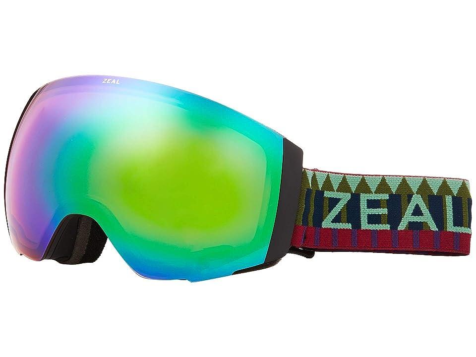 Zeal Optics Portal (Royal Peacock w/ Jade Mirror + Sky Blue Mirror) Snow Goggles