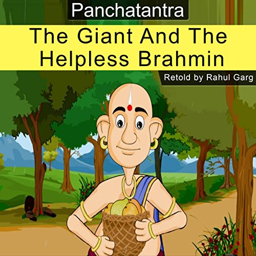 The Giant and the Helpless Brahmin audiobook cover art