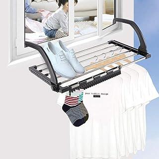 Étendoir Séchoir À Linge Pliant 47x32x18,5cm Support pour Chaussure De Séchage pour Balcon Pliant Multifonctions À Accroch...