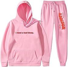 Addison Rae Hoodies tweedelige set trainingspak lange mouwen hoodies+jogger broek Streetwear & broek heren en dames sets