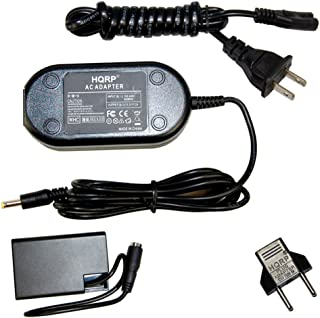 HQRP AC Power Adapter for PENTAX K-30, K-50, K-70, K-500 SLR Digital Camera K-AC128 D-AC128 K-AC168 D-DC128 D-Li109 Power Supply Cord + Euro Plug Adapter