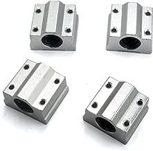 Mergorun, Linear Ball Bearing, SCS8UU Linear Motion Ball Bearing CNC Slide Bushing Pack Of 4