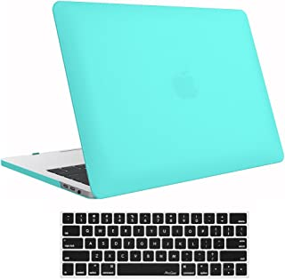 "MacBook Pro 15 Case 2017/2016 A1707, ProCase Hard Case Shell Cover Keyboard Cover Apple MacBook Pro 15"" (Newest 2017/2016 Release) Touch Bar Touch ID Turquoise MacBook Pro 15 (A1707)"