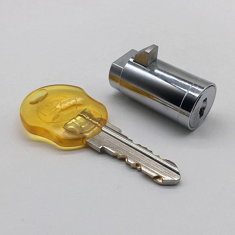 DZCGTP 1 Pieza Mecanismo de Disco de Seguridad de 38,5 mm Todas Las Llaves La Misma Bebida Máquina expendedora automática Bloqueo de Enchufe